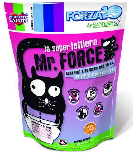 Forza 10 силикагелевый наполнитель для кошачьего туалета, ароматизированный, кремнезем 1,5 кг