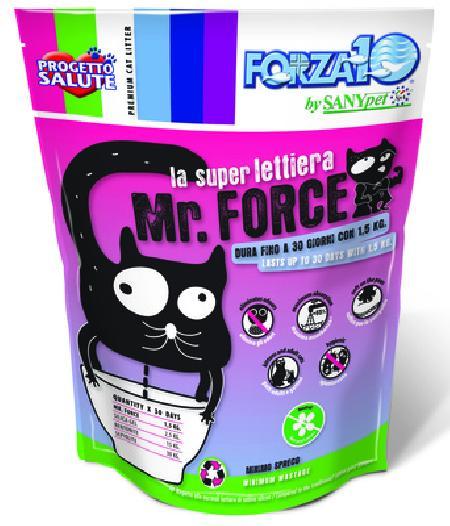 Forza 10 силикагелевый наполнитель для кошачьего туалета, кремнезем 1,5 кг