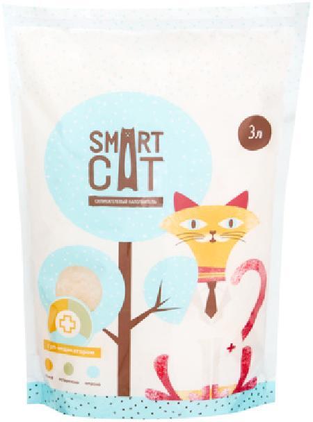 Smart Cat наполнитель Силикагелевый наполнитель с pH индикатором, 3л, 1,250 кг, 20802