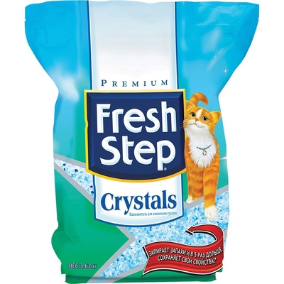 Fresh Step Crystals силикагелевый впитывающий наполнитель 1,8 кг