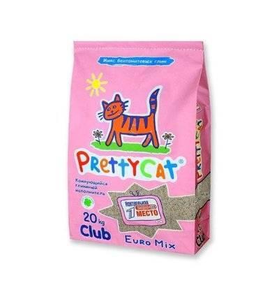 PrettyCat Euro Mix комкующийся наполнитель для кошачьих туалетов 20 кг