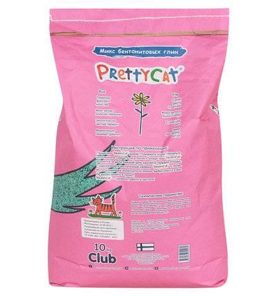PrettyCat Euro Mix комкующийся наполнитель для кошачьих туалетов 10 кг