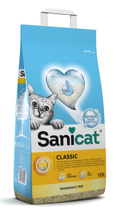 Sanicat Classic впитывающий минеральный наполнитель 20 л