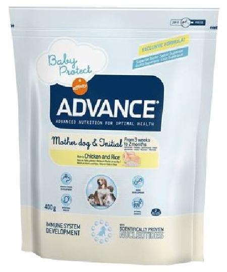Advance (снят с производства) СМ. АРТИКУЛ 34508 Для щенят с курицей и рисом (от 3 недель до 2 месяцев) (Baby Protect Initial) 922235 .., 0,4 кг, 13041