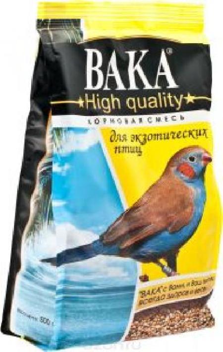 ВАКА High Quality корм для экзотических птиц 500г (1101080) , 1400100471