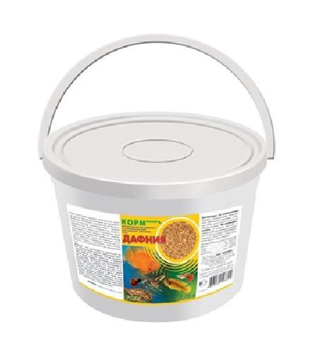 ЗООМИР Дафния для рыб, рептилий, земноводных, птиц, пластиковый контейнер 2,75л 274, 0,250 кг