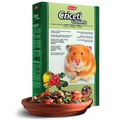 Padovan Grandmix Criceti основной корм для хомяков и мышей 400 гр, 3700100479