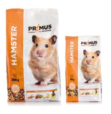 Benelux корма Корм для хомяков Премиум (Primus hamster  Premium) 32503 (PRIMUS HAMSTER 750G) 32503, 0,750 кг, 30006, 4800100479