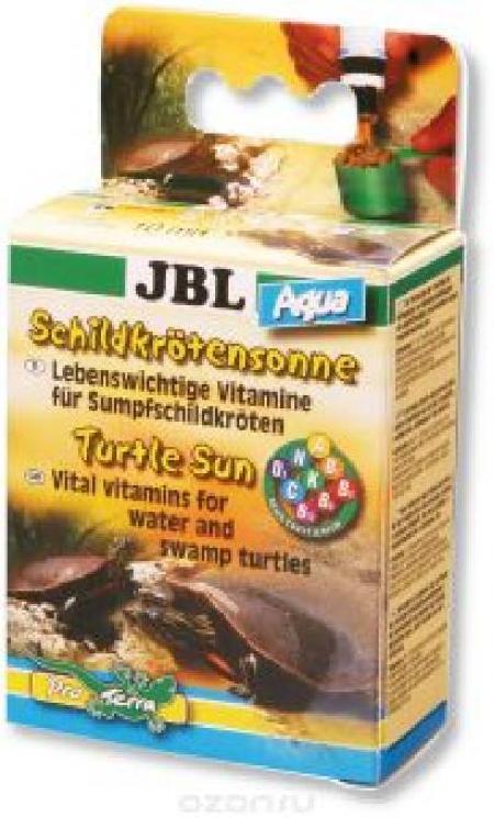 [282.7044100]  JBL Turtle Sun Aqua Витамины, 10мл, д/водных и болотных черепах (уп-60шт) , 282.7044100, 400100480