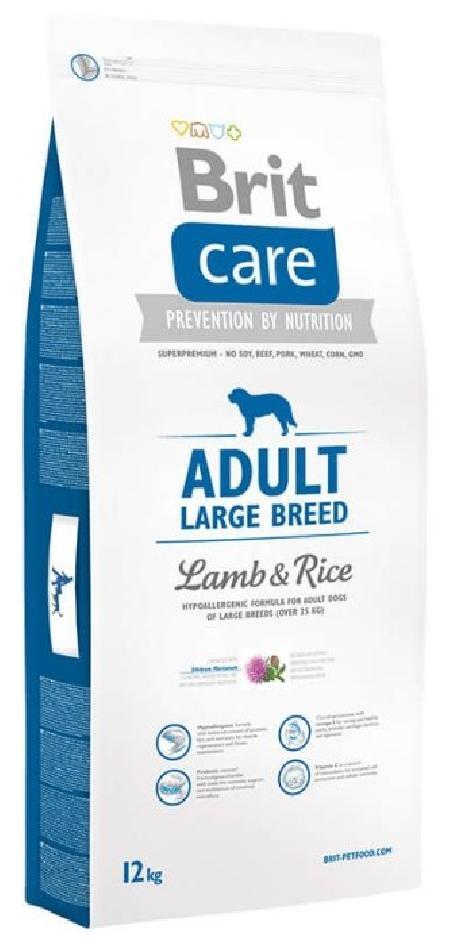 Brit ВИА  Care для собак крупных пород от 25кг с ягненком и рисом (Adult Large Breed Lamb&Rice) 170127, 18 кг, 14734