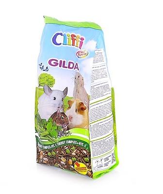 Cliffi (Италия) Комплексный корм для мелких домашних грызунов (морские свинки, шиншиллы, дегу, луговые собачки) (Compound food for small pet rodents) PCRA027, 0,900 кг, 31295