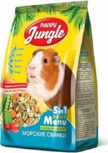 Happy Jungle корм для морских свинок 400 гр