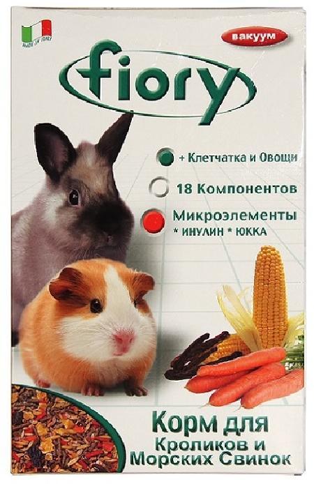 Fiory Conigli e cavie корм для морских свинок и кроликов 850 гр