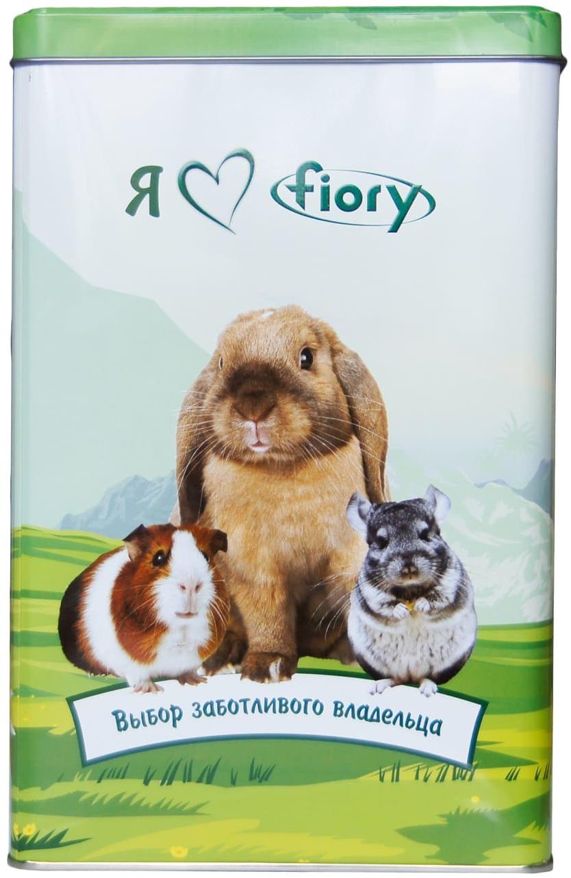 FIORY корм для морских свинок и кроликов Conigli e cavie  850 г + контейнер, 06510А