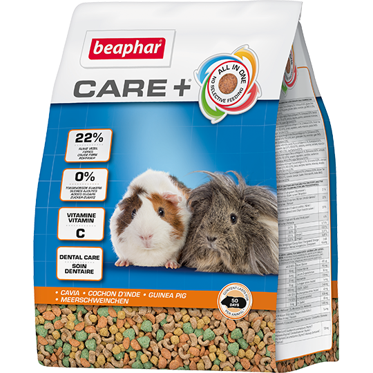 Beaphar Корм для морских свинок Care+ 18420, 0,250 кг