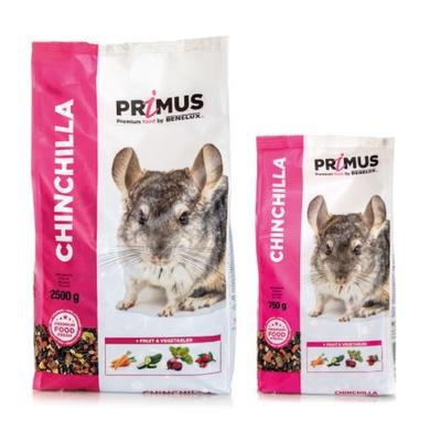 Benelux корма Корм для шиншилл Премиум (Primus chinchilla Premium) 32522 (PRIMUS CHINCHILLA 2500G) 32552, 2,500 кг