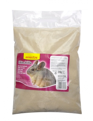 Benelux аксессуары Песок для шиншилл (Chinchilla speciaal badzand) 3332, 3,000 кг, 31364