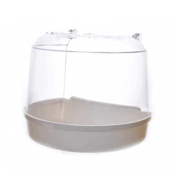 Benelux аксессуары ВИА Ванночка для птиц для круглой клетки 15*11*12.5 см (Bird bath for round cage 15x11x12.5 cm) 14402.., 0,250 кг, 50693, 1600100488