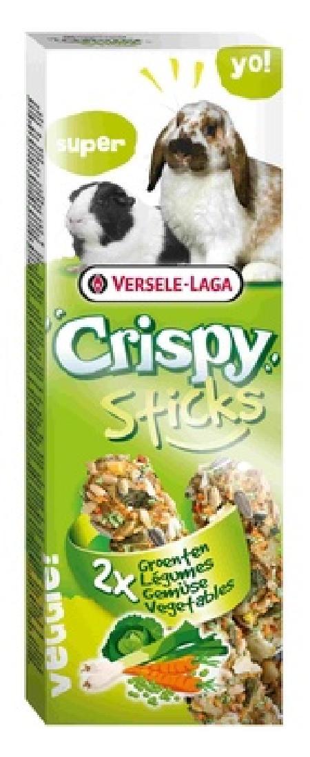 Versele-Laga Crispy палочки для кроликов и морских свинок, с овощами 110 гр
