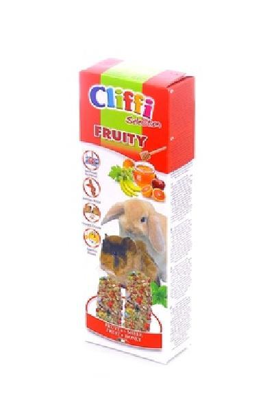 Cliffi (Италия) Лакомства для Морских свинок и Кроликов: палочки с фруктами и медом (Sticks for rabbits and guinea pigs honey and fruit, Fruity SELECTION) PCRA253, 0,110 кг, 31512