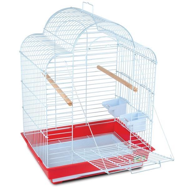 800-1 К Клетка для птиц 52х41х70см (ан: 1301) с выходом