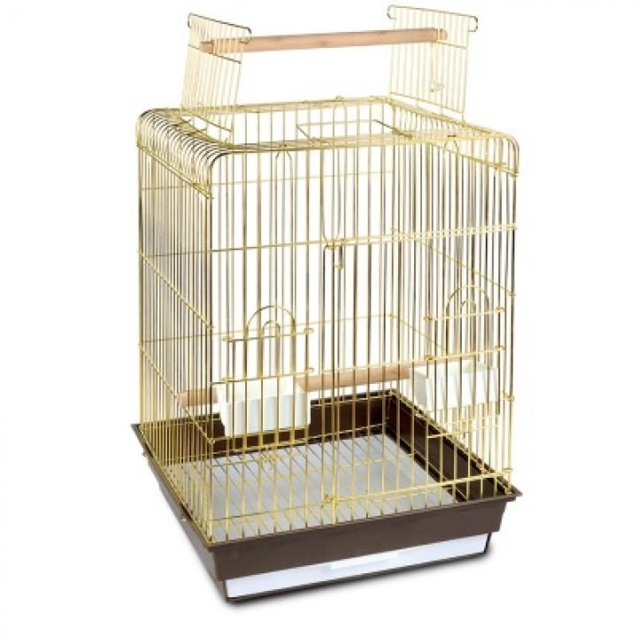 1038A G Клетка для птиц 47,5х47,5х86см (ан: 830А) с выходом, 50611006