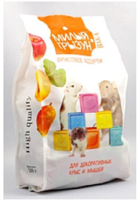 Вака High Quality Милый грызун фруктовое ассорти ддекоративных крыс и мышей,200гр. 110