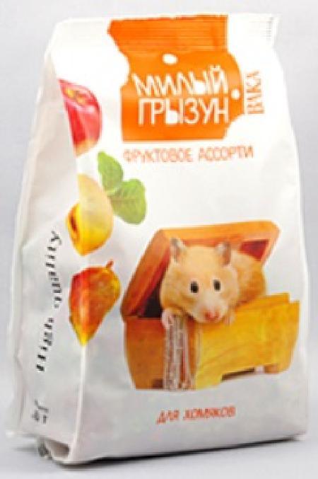 Вака High Quality Милый грызун фруктовое ассорти дхомяков,200гр. 110