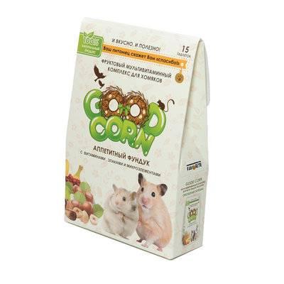 Good Dog&Cat Фруктовый мультивитаминный комплекс для хомяков АППЕТИТНЫЙ ФУНДУК 15 таб.(ш/б=5шт) FG 05304, 0,038 кг, 53150, 53150