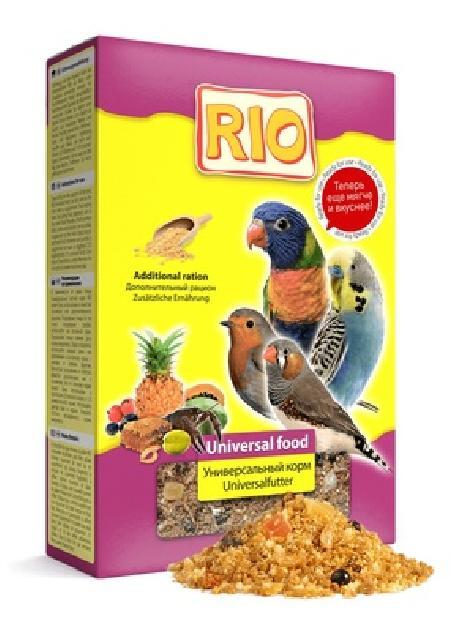 Рио ВИА Универсальный мягкий корм для всех видов птиц, 0,35 кг, 35262