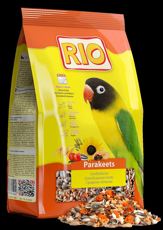 [16.601] РИО Корм для средних попугаев 25кг