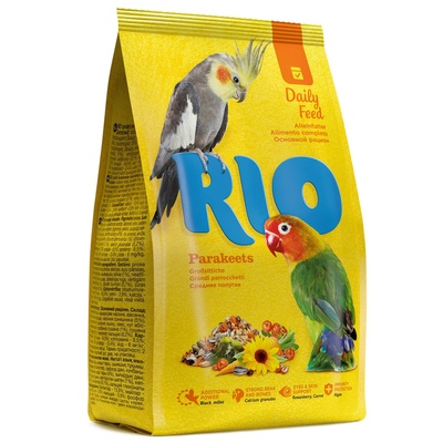 RIO корм длЯ собак редних попугаев 500 гр