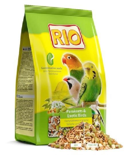 Rio корм для попугаев и экзотических птиц, рацион для проращивания 500 гр