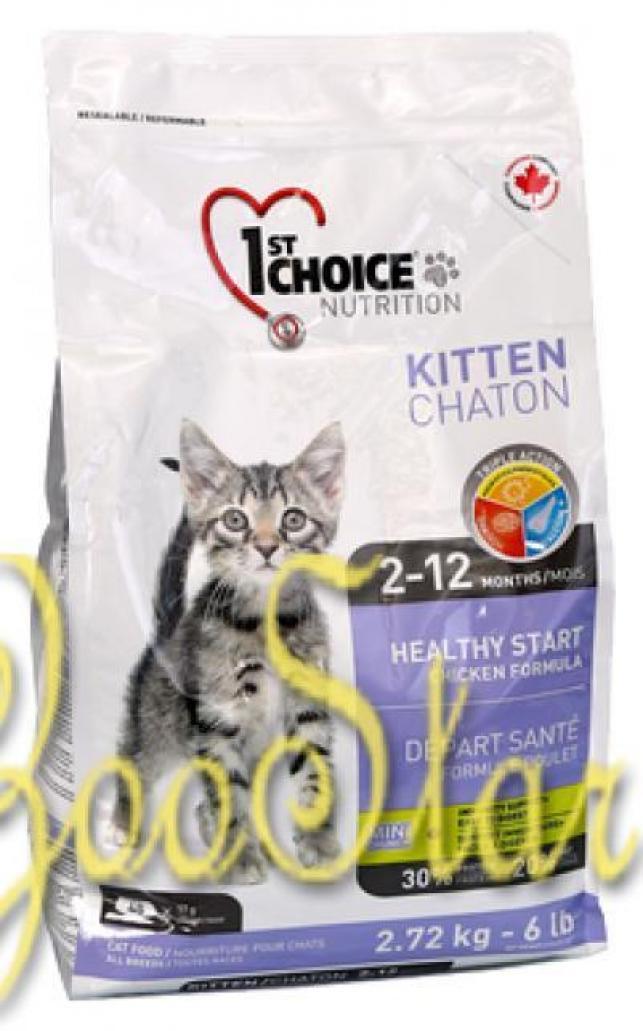 1st Choice корм для котят всех пород, курица 10 кг