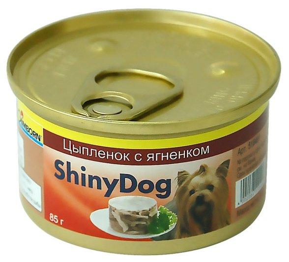 Gimborn Shiny Dog влажный корм для взрослых собак, цыпленок с ягненком 85 гр