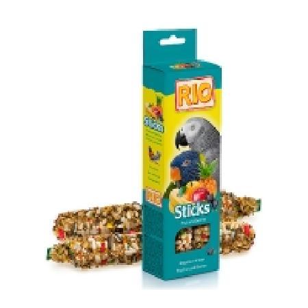 RIO палочки для попугаев с фруктами и ягодами коробка 2*90г