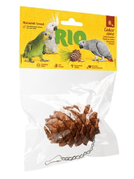 RIO лакомство Кедровая шишка 1 шт пакет