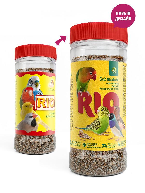 RIO минеральная смесь для всех видов птиц 4 кг мешок