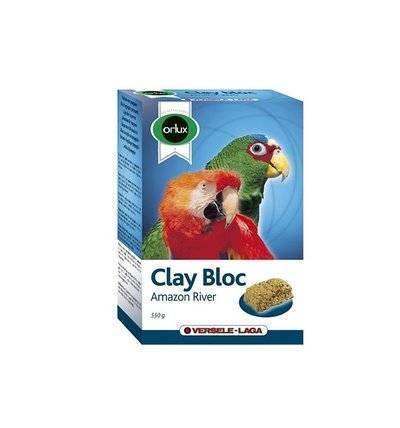 Versele-Laga минеральный блок для крупных попугаев, с глиной 550 гр