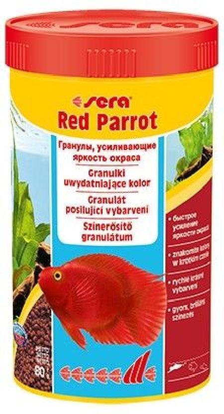Sera корм для красных попугаев 80 гр