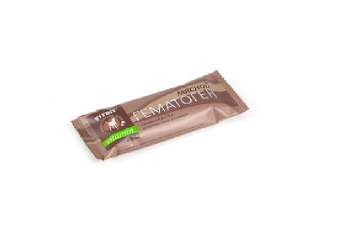 TiTBiT Гематоген мясной vitamin 5903/005897, 0,035 кг