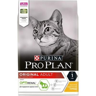 Pro Plan корм для взрослых кошек всех пород, для поддержания иммунитета, курица 7 кг
