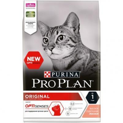 Purina Pro Plan Для взрослых Кошек с лососем (Optirenal Original Adult) - 12172062/12369714, 0,1 кг