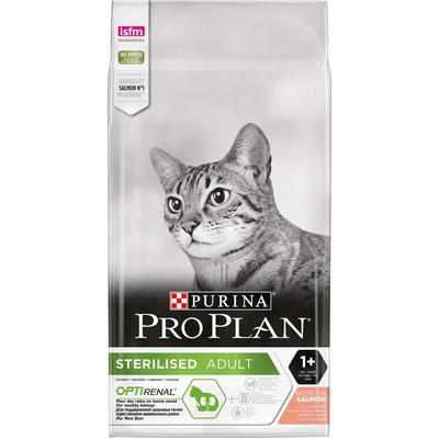Pro Plan корм для взрослых стерилизованных кошек всех пород, лосось 7 кг
