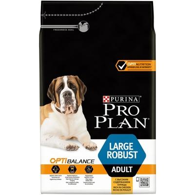 Pro Plan корм для крупных и взрослых собак мощного телосложения, курица 3 кг