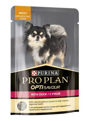 Purina Pro Plan ВИА см арт 55544 Паучи кусочки в соусе для взрослых Собак с уткой 12384238, 0,100 кг, 37608