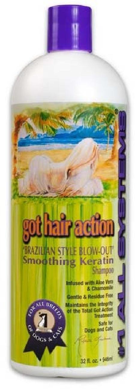 1 All Systems Smoothing Keratin Shampoo шампунь выпрямляющий с кератином 946 мл СКИДКА 40%, 09301