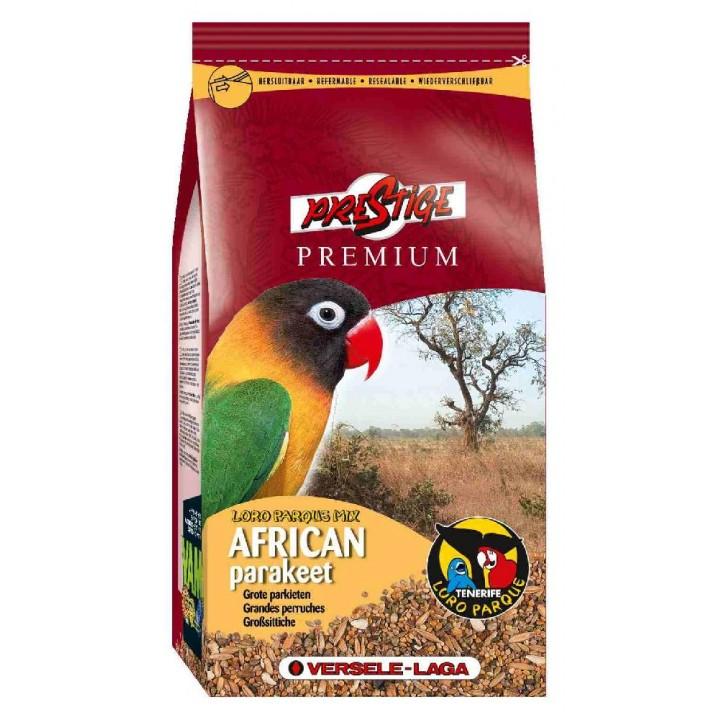 VERSELE-LAGA корм для средних попугаев Prestige PREMIUM African Parakeet Loro Parque Mix 20 кг, 421988