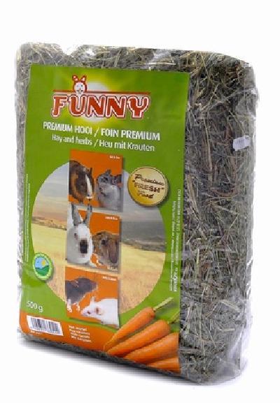 Benelux корма Сено с морковью (Hay with carrots) 3351, 0,500 кг