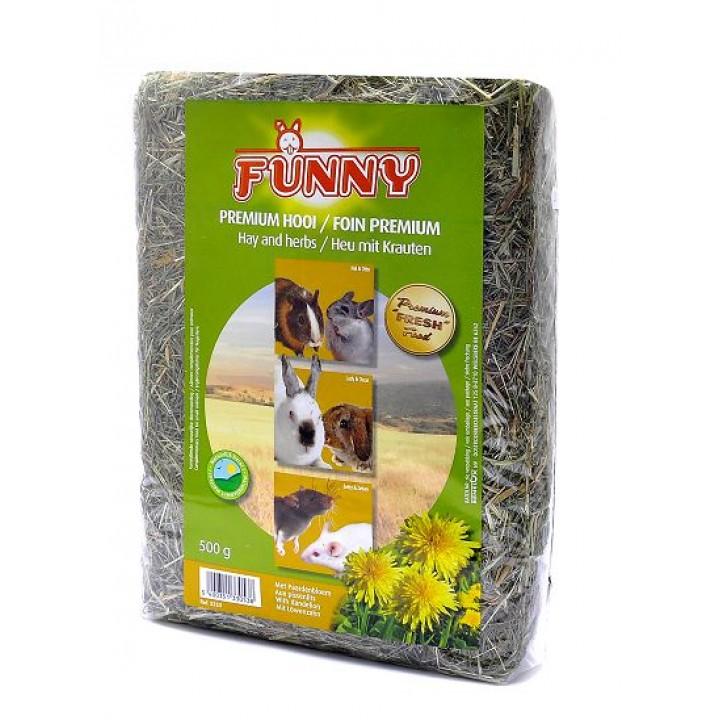 Benelux корма Сено с одуванчиком (Hay with dandelion) 3353, 0,500 кг, 31366